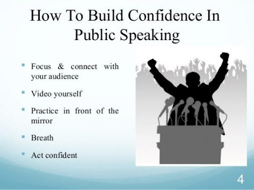 How to build confidence in public speaking